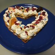Torta malička Valentínska tortička
