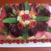 Torta narodeninová slaná