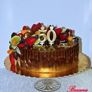 Torta čokoládovo zlatá