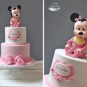 Torta Minnie mouse baby