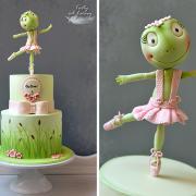Torta Žabka baletka