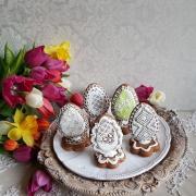 Torta veľkonočné kraslice