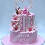 Torta krstinové pre princeznú a princa
