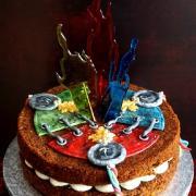 Torta narodeninová pre 3 chlapov :)