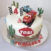 Torta McQueen Tobiaskovi