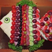 Torta slaná rybka
