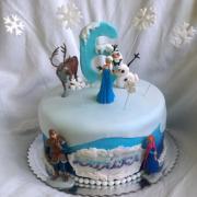 Torta Frozen...