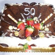 Torta Narodeninová 50