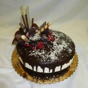 Torta Čokoládová s višňami
