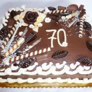 Torta Narodeninová 70