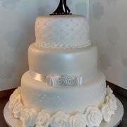 Torta 3-posch. svadobná...