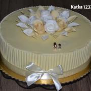 Torta svadobná čokoládová