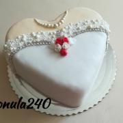 Torta Svadobná nevesta