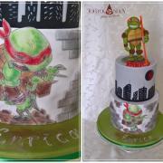 Torta Ninja korytnačka