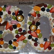 Torta k 80.narodeninám