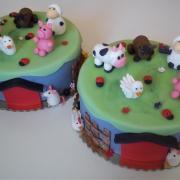 Torta Narodeninová - mali dve oslavy