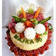 Torta Pre Majku s redkvičkovymi kvetmi