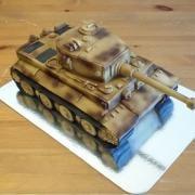 Torta Tank Tiger