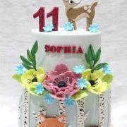 Torta Narodeninová so zvieratkami