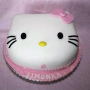 Torta Hello Kitty s muffinami