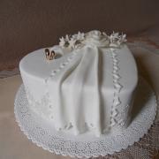 Torta svadobná, darovacia