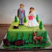 Torta Poľovnícka svadobná...
