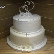 Torta Jednoducha biela