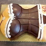 Torta ženské torzo torta...