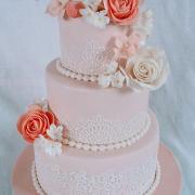 Torta svadobná vintage