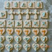 Torta malé linecké koláčiky na prvé sväté prijímanie
