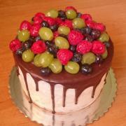 Torta Tortička s ovocím a čokoládou