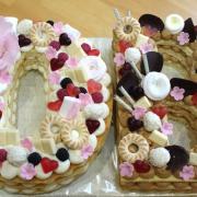 Torta Iniciály na krst