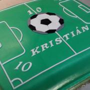 Torta futbalistovi na 10 rokov