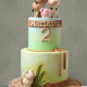 Torta Farmárske zvieratká