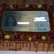 Torta čokoládová s občianskym preukazom