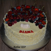 Torta krstinová tortička