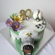 Torta Jubilantovi - bývalému baníkovi