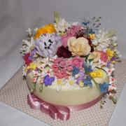 Torta kvetinová záplava