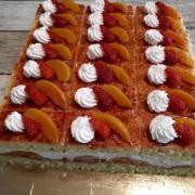 Torta tvaroh-ovocie