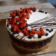 Torta čoko-jahoda