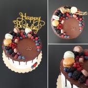 Torta Narodeninova dripka