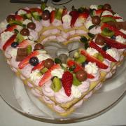 Torta ovocná len ta