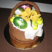 Torta Veľkonočný košik