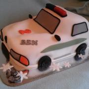 Torta policajné autíčko pre benyho...