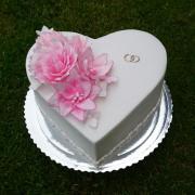 Torta Svadobná tortička 1