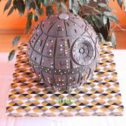 Torta Hviezda smrti z Hviezdnych vojen