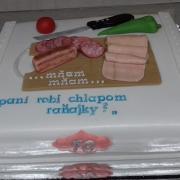 Torta 70 rokov