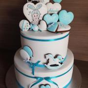 Torta Krstinova torticka