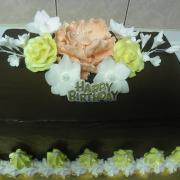 Torta čokoládová k narodeninám