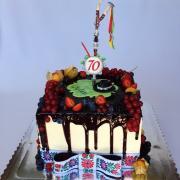 Torta Drip tortička s ozembuchom :)